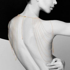 Magnifique Shoulder Jewelry- Gold