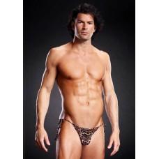 Pro-Mesh Side-Tie Bikini Leopard L/XL