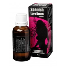 Spanish Love drops Secrets - 30 ml (EN/DE/FR/ES/IT/PT/NL)