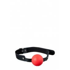 GP SOLID SILICONE BALL GAG RED