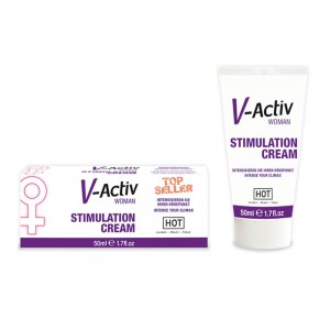 V-Activ STIMULATION CREAM for WOMEN - 50ml
