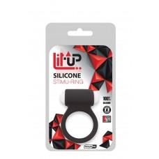 LIT-UP SILICONE STIMU RING 3 BLACK