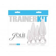 Jolie 4Pc Trainer Kit Clear