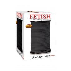 Bondage Rope per meter Black 61meter