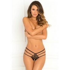 WANTED & WILD CROTCHLESS PANTY, S/M